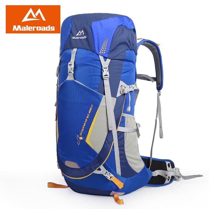 Top qualité Maleroads 50L Camping randonnée sac à dos hommes femmes voyage sac à dos Sport de plein air sac à dos escalade Trekking sac à dos - 4