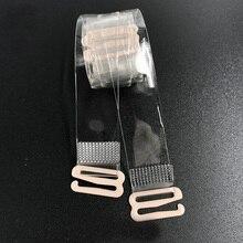 La MaxPa, 1 пара, розовое золото, пряжка, бюстгальтер, ремни, ремень, женские прозрачные силиконовые лямки бюстгальтера, регулируемые аксессуары k545