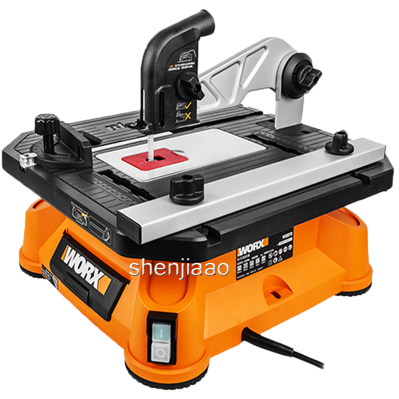 Multi function table saw WX572 jigsaw chainsaw cutting machine sawing tools woodworking 650 W domestic power tools