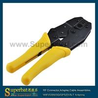 Superbat Yellow Crimper Crimping Tool RG8 RG11 RG213 LMR400 RG316 RG174 SMA N MCX 336K