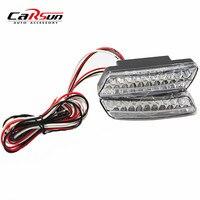 Drop Shipping NEW 12V 24V New 1Pair Car Daytime Running Lights 20 LED DRL Daylight Kit