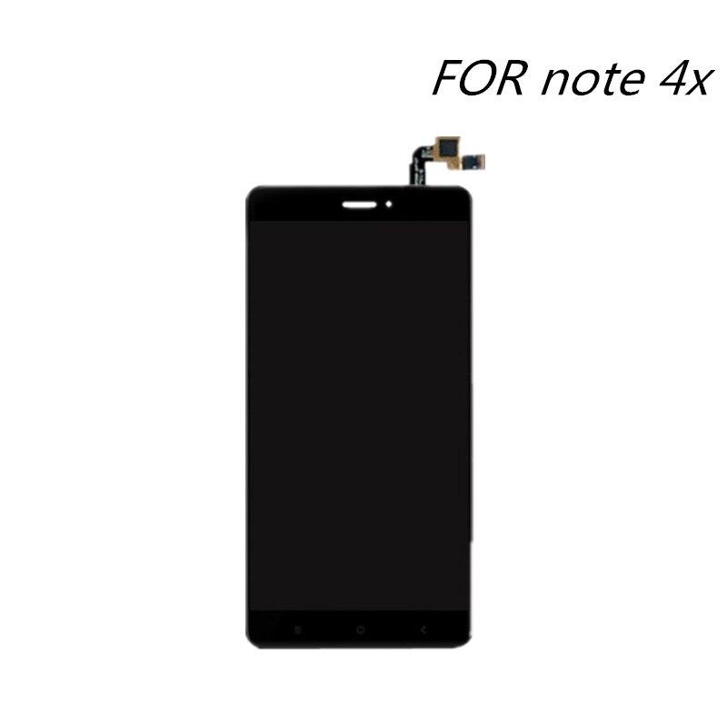 imágenes para Para Xiaomi redmi nota 4X LCD Display + Touch Screen Reemplazo Digitalizador Asamblea de Pantalla Para la nota 4 Móvil Versión Global teléfono