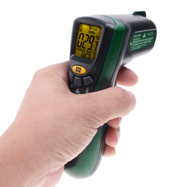 Infrared thermometer termometro infravermelho digital temperature instrument diagnostic-tool-20300 degrees 572F MASTECH MS6520A