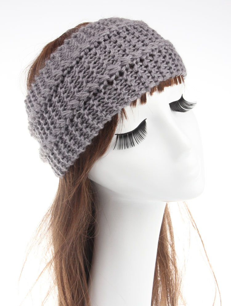 Knitted Turban Headband Crochet Headband Pattern Women Hair
