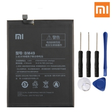 Xiao Mi Original Replacement Phone Battery BM49 For Xiaomi Max Authenic Rechargeable 4760mAh
