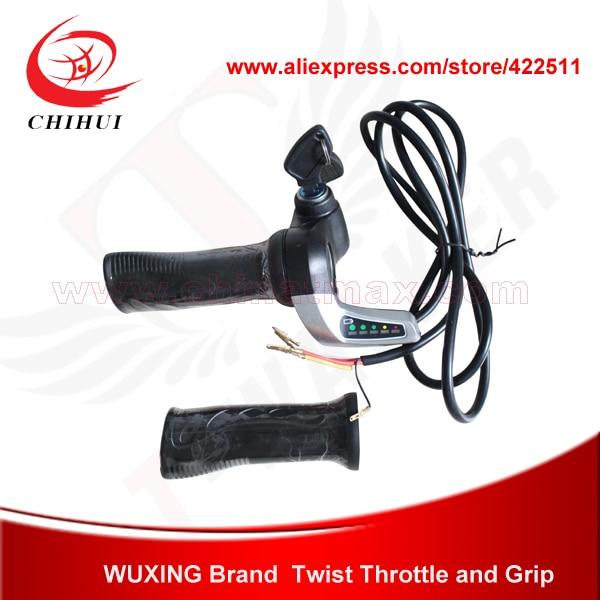 دریچه گاز برقی اسکوتر WUXING Brand 48V پیچ و - دوچرخه سواري