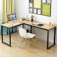 Современные компьютерные столы Таблица мебель для офиса Спальня Домашний уголок стол escritorio Исследование Компьютер стоял Рабочий стол мез