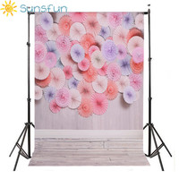 Sunsfun 5x7ft Customize Vinyl Cloth Photography Backdrop Computer Printing Children S Birthday Background For Photo Studio