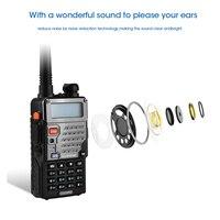 מכשיר הקשר dual band ניו Baofeng UV-5RE מכשיר הקשר Dual Band VHF UHF 136-174 / 400-520MHz FM במקלט נייד 5W שני הדרך כף יד רדיו סורק (2)