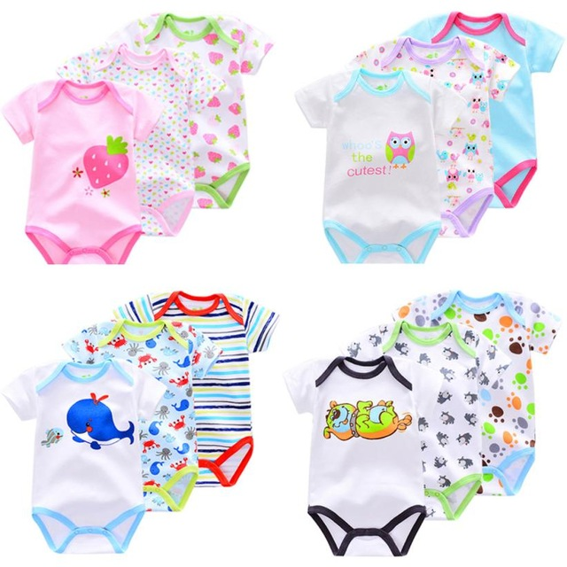 05cbc42019e6 Hot sale baby clothes summer 3 pieces   lot Newborn unisex Baby Boy ...