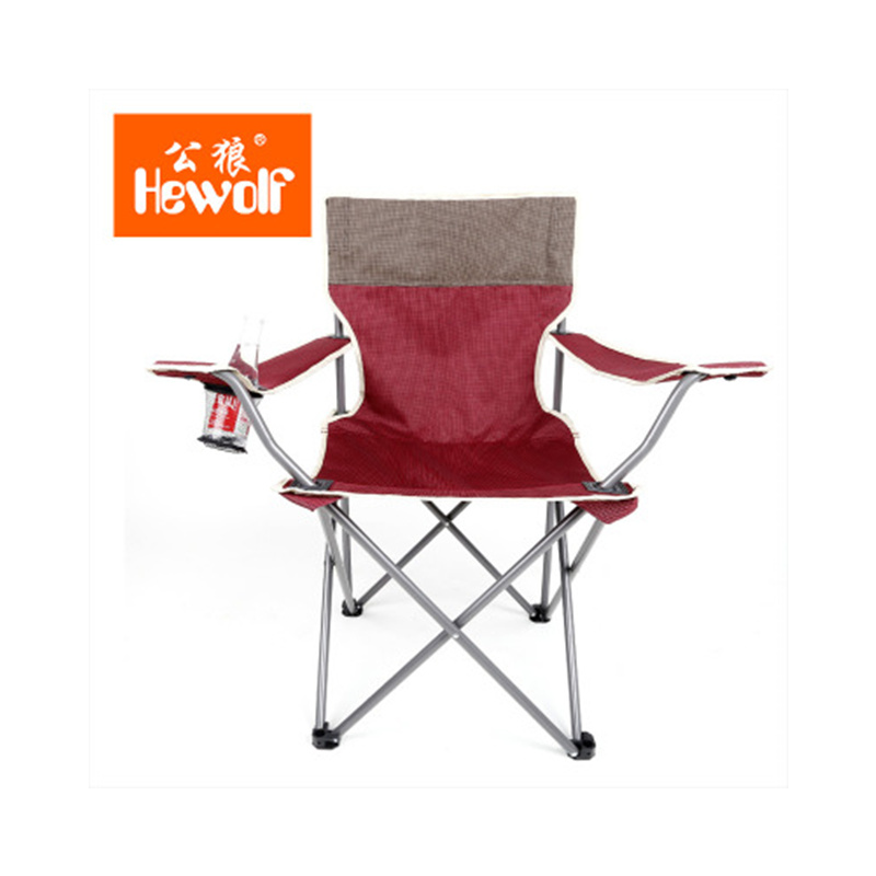 Outdoor Camping Fishing Chairs Folding Portable Camping Fishing Chairs Oxford and Iron Pipe Camping Beach Fishing Chair 45*45*85 ...