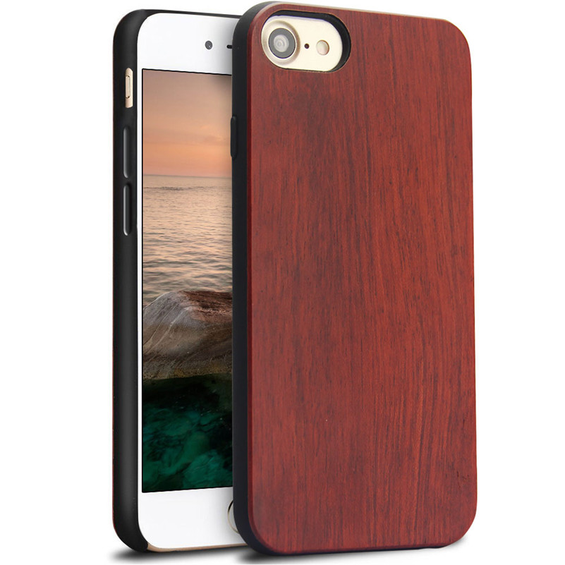 Wood Phone Cases For iPhone 7 Case 8 Natural Bamboo Wooden 1
