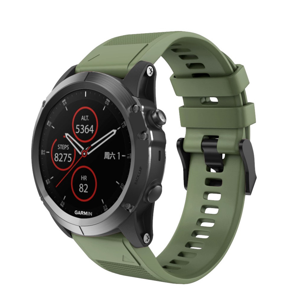 2019 Watchbands Quick Release Replacement Silicone Easy Fit Wirst Band For Garmin Fenix 5X Plus Fashion Sports Men Watch Belts2019 Watchbands Quick Release Replacement Silicone Easy Fit Wirst Band For Garmin Fenix 5X Plus Fashion Sports Men Watch Belts