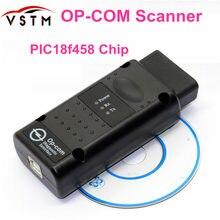Firmware OP-COM de professtionaal opcom v1.99 v1.59 v1.70 v1.78 v1.95 para opel scanner diagnóstico op com pic18f458 chip real