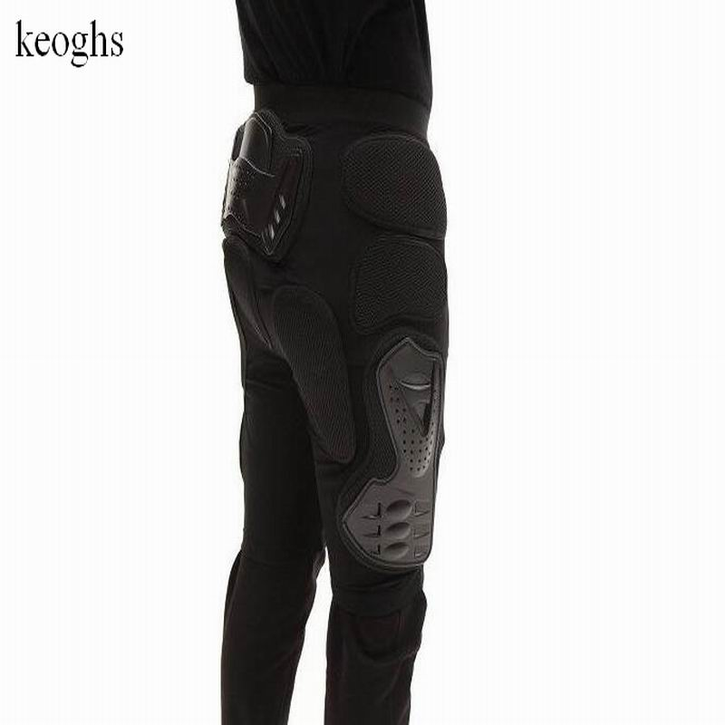 Мотоцикл Скутер pantaloncini Мотокросс Шорты Мотокросс лыж защитные Шорты защиты бедра и ноги Бесплатная доставка