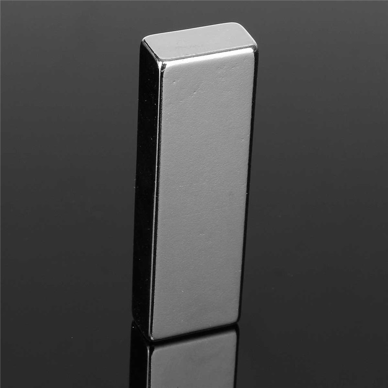 1pc 60 x 20 x 10mm N52 Block Magnets Super Strong Cuboid Rare Earth Neodymium Magnets 60mm x 20mm x 10mm Magnet super strong rare earth re magnets 10mm x 1mm 100 pack
