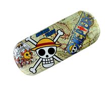 Anime One Piece Cartoon Logo PU Leather Glasses Box Spectacle Case Eyeglasses for children#41