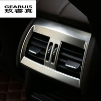 Car styling For BMW X5 f15 X6 f16 E70 E71 Rear air conditioning vent decorative frame outlet trim sticker Cover auto Accessories