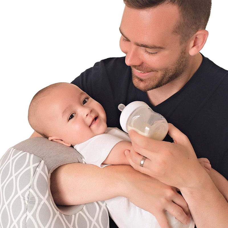 Allaitement oreiller allaitement pour 0-24 mois nouveau-nés bras oreiller nouveau Type lavable coton biberon oreiller bébé bras oreiller