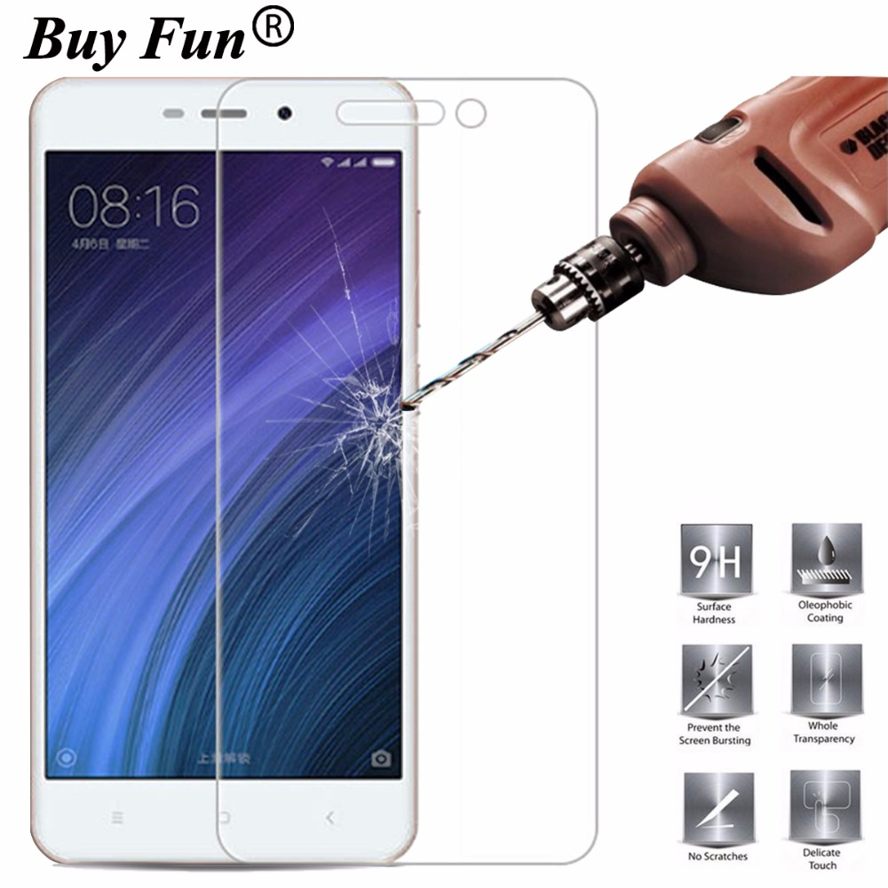 Buy For Xiaomi Redmi 4a Tempered Glass Screen Dazzle Guard Diamond Coating Protector Original 9h Explosion Proof Film Protective Films Case From