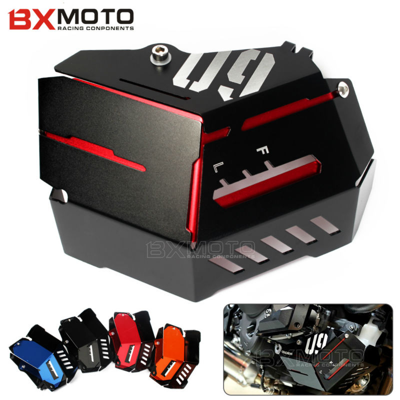 BXMOTO CNC Motorcycle accessories Radiator Side Bezel Grill Grille Guard Cover Protector For Yamaha MT09 MT-09 MT 09 2015 2016 motorcycle radiator protective cover grill guard grille protector for kawasaki z1000sx ninja 1000 2011 2012 2013 2014 2015 2016