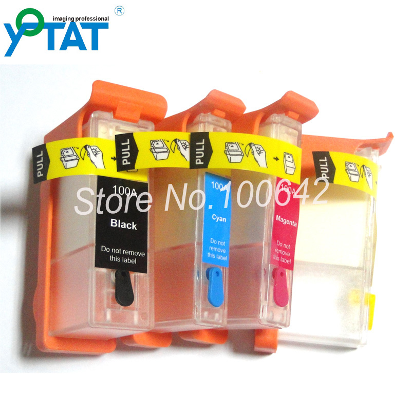 Compatible Lexmark 100A 100 100XL refillable ink cartridge for Lexmark S305 S308 S405 S408 S505 S508