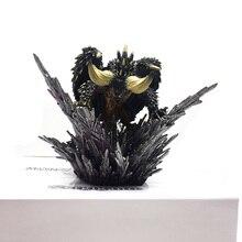 Фигурка украшения игрушки модель Япония Аниме монстр Охотник мир фигурка Nergigante ПВХ модели горячий Дракон Рождественский подарок