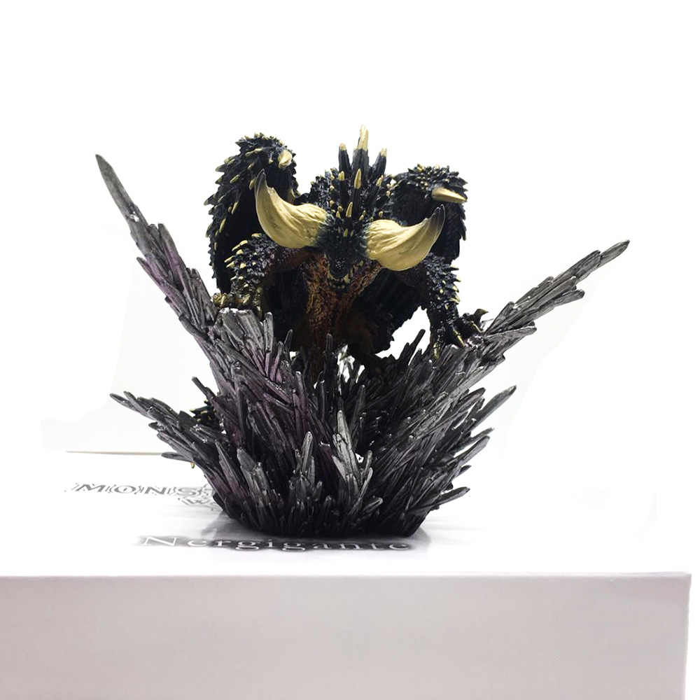Action Figure Decorazione Giocattolo Modello Japan Anime Monster Hunter Figura del mondo Nergigante Modelli IN PVC Drago Hot regalo Di Natale
