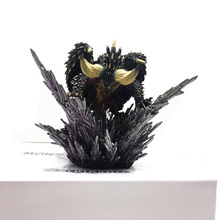 цена Action Figure Decoration Toy Model Japan Anime Monster Hunter world Figure Nergigante PVC Models Hot Dragon Christmas gift онлайн в 2017 году
