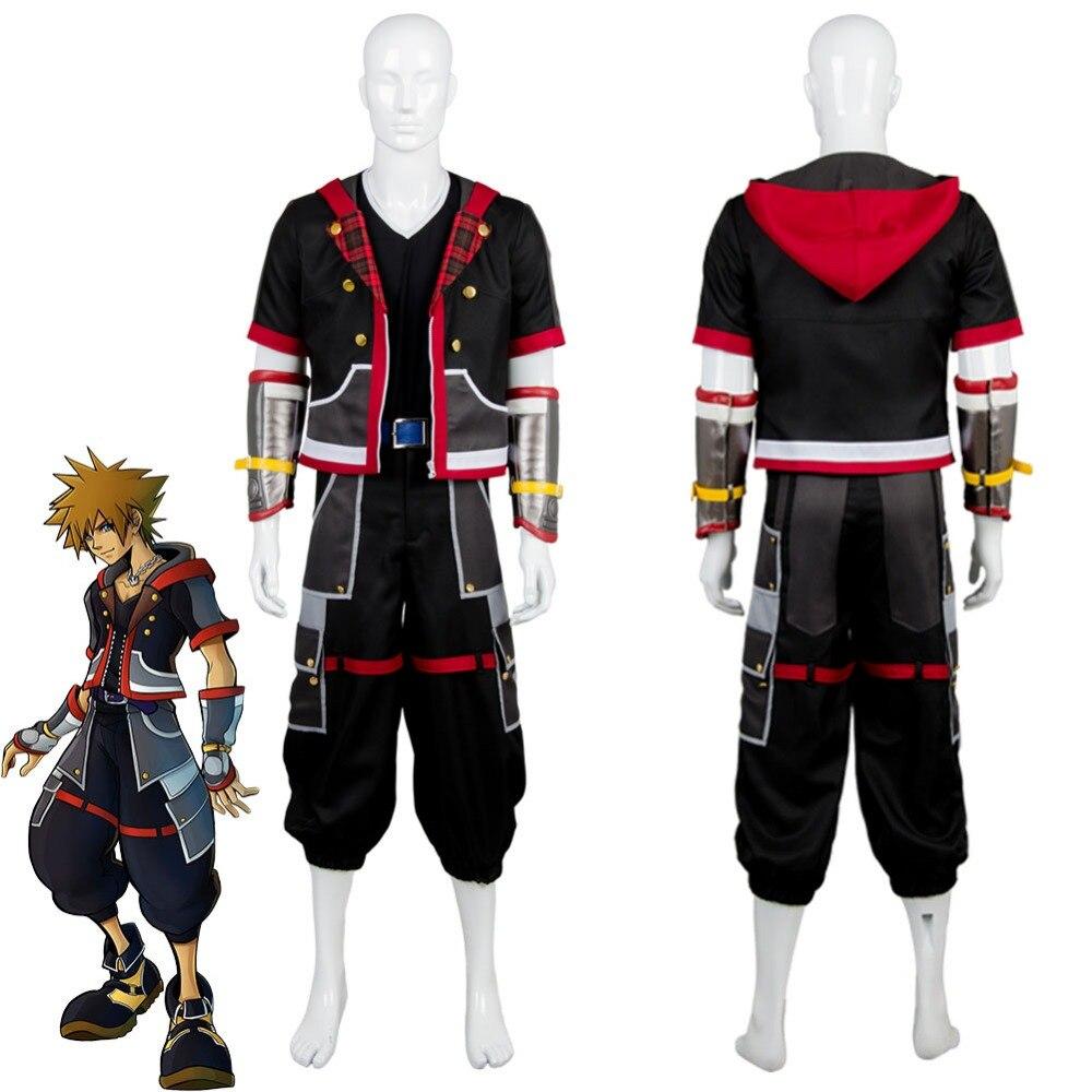 Kingdom Hearts III главный герой Косплей Сора костюм наряд счет храбрые части действие игровой костюм форма