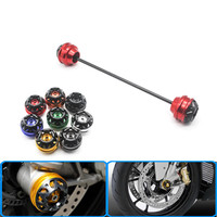 Free shipping for for ducati HYPERMOTARD 1100 796 HYPERMOTARD 821 CNCAluminum Front & Axle Fork Crash Sliders Wheel Protector