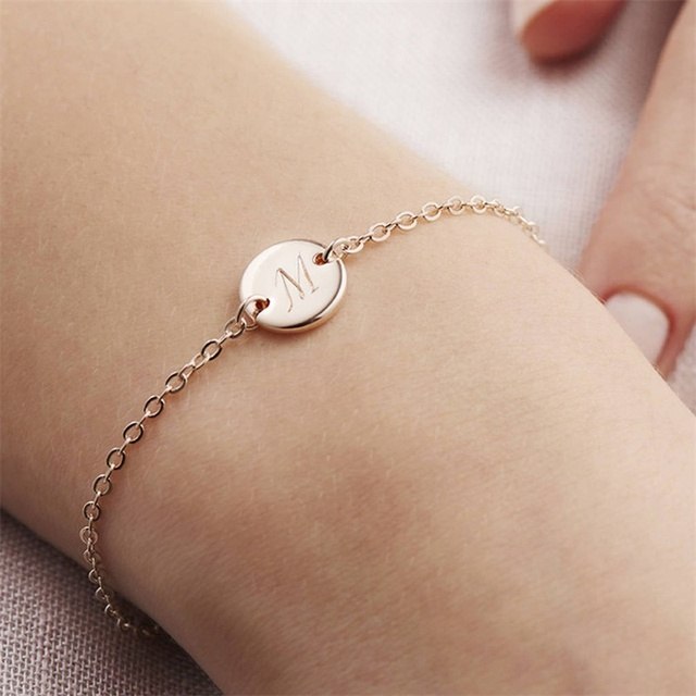 Fashionable Gold Color Bracelet and Bangle for Woman Adjustable Simple Bracelets Woman Jewelry Party Gifts 1