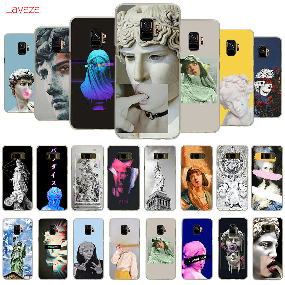 Lavaza Vintage Plaster Statue David Art Hard Phone Case for Samsung Galaxy A10 A30 A40 A50 A70 M10 M20 M30 Cover