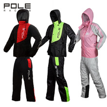 Pole motorcycle raincoat suit motorbike rain gear include jackets pants outdoor fishing riding impermeable rain jacket cover