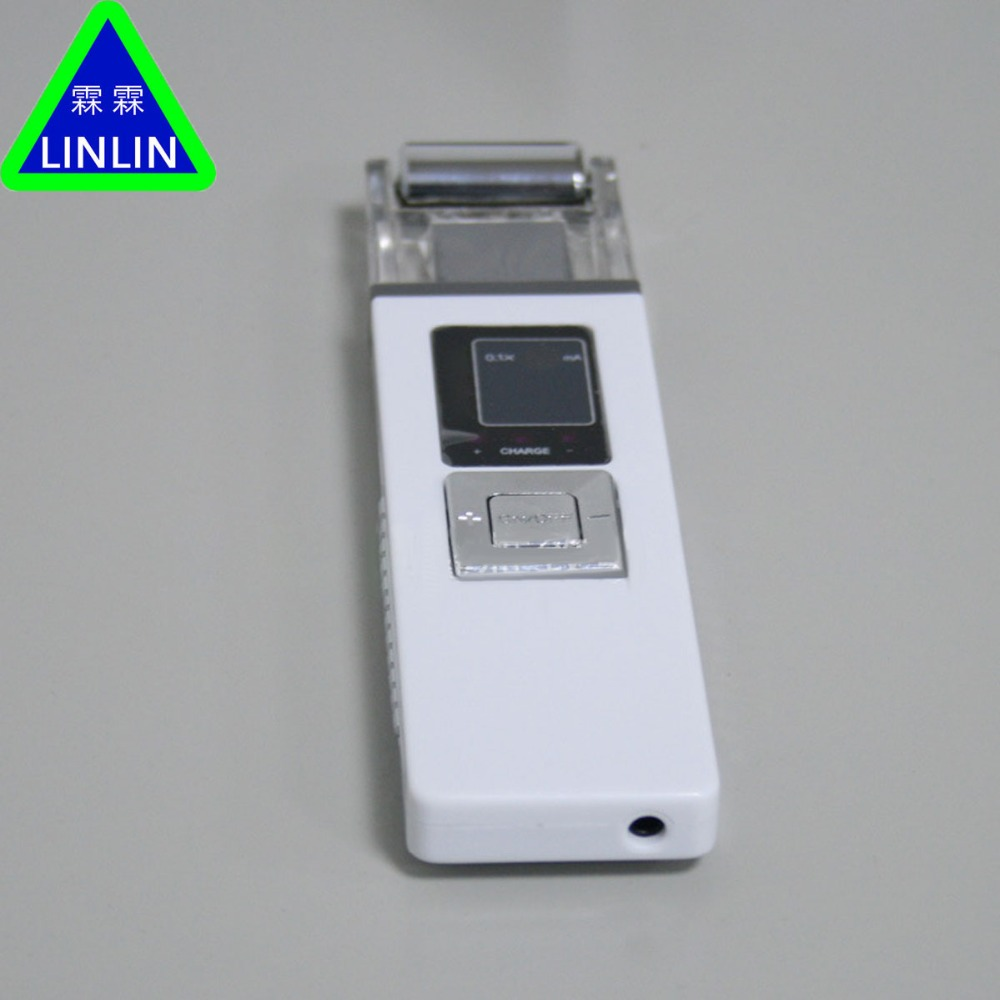 LINLIN Rechargeable portable double head micro current skin lift beauty instrument small household beauty meter