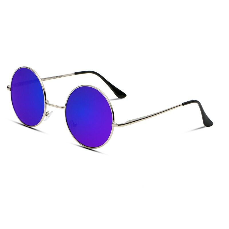 Neue Marke Designer Klassische Runde Sonnenbrille Männer Kleine Vintage Retro John Lennon Brille Frauen Fahren Metall Brillen