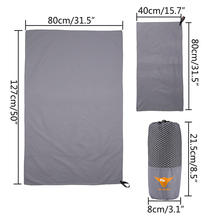 2 PCS/SET Microfiber Towels