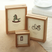 Europe Style Vintage Picture Frames Set Wood Photo Frame Wall Collage Potoes Frame Cadre Photo Free