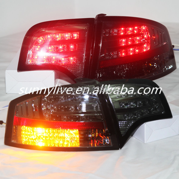 For Audi A4 LED Tail Light Rear Lamp 2005 2008 Year All