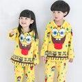 2016 niños del invierno de franela pijamas niños pijamas de invierno niños niñas pijamas polar pijamas kids mickey chica ropa de dormir de los niños