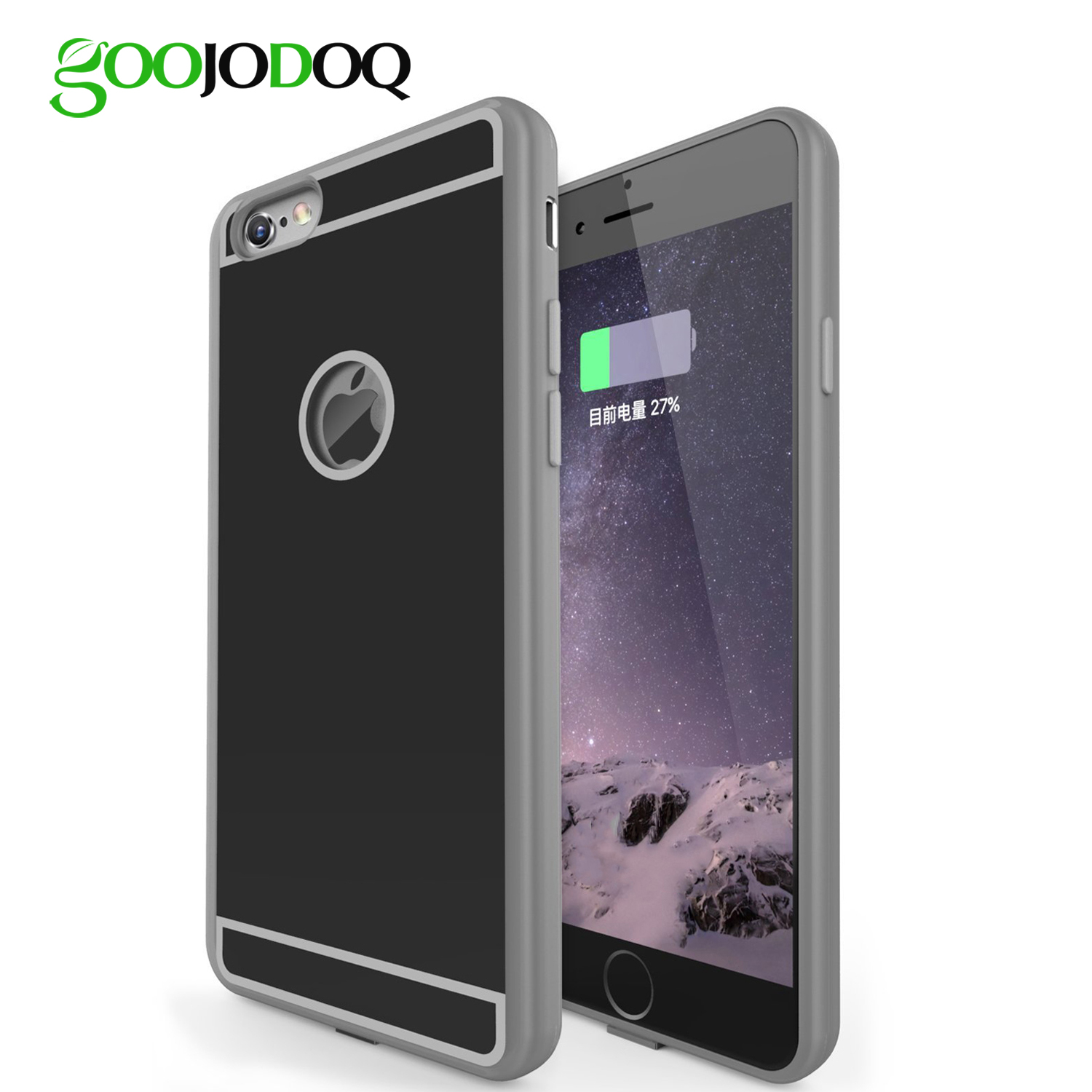hot qi wireless charger receiver case for apple iphone 7 6. Black Bedroom Furniture Sets. Home Design Ideas