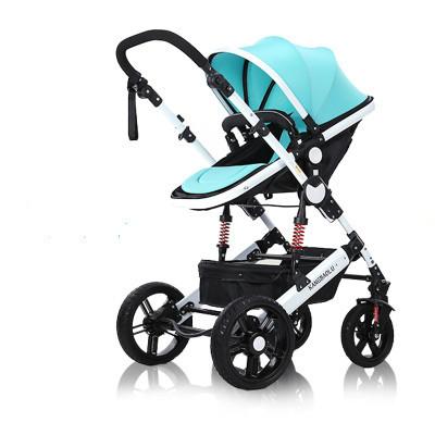 Paisagem alta ultra portátil dobrável à prova de choque carrinho de bebê mão do bebê empurrar para a quarta rodada de verão e de inverno para crianças