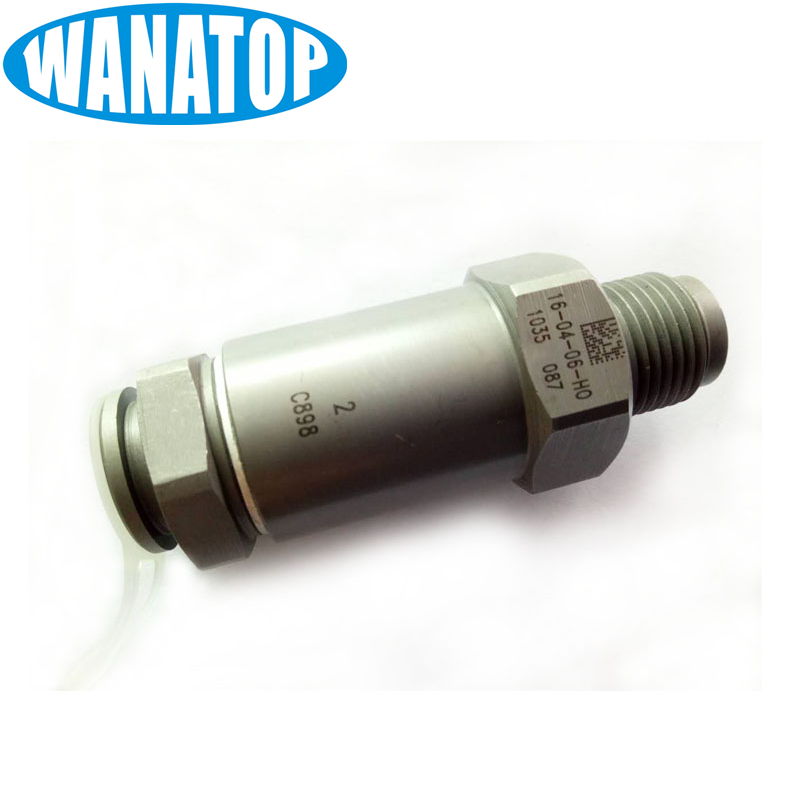 Shop1804996 Store NEW common rail pressure release /relief valve 1110010035, ressure limit valve for bosch injector