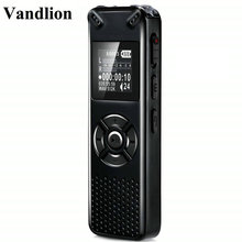 Vandlion Professional Smart Digital Voice Recorder Portable Hidden HD Sound Audio Telephone Recording Dictaphone MP3 Recorder secret dictaphone digital voice recorder mini registrar hifi stereo sound microphone support telephone recording tf expansion