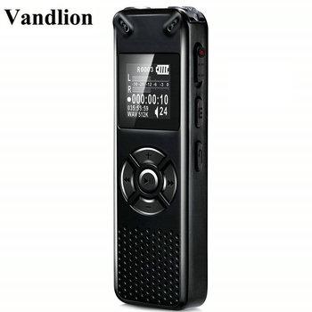 Vandlion Professional Smart Digital Voice Recorder Portable Hidden HD Sound Audio Telephone Recording Dictaphone MP3