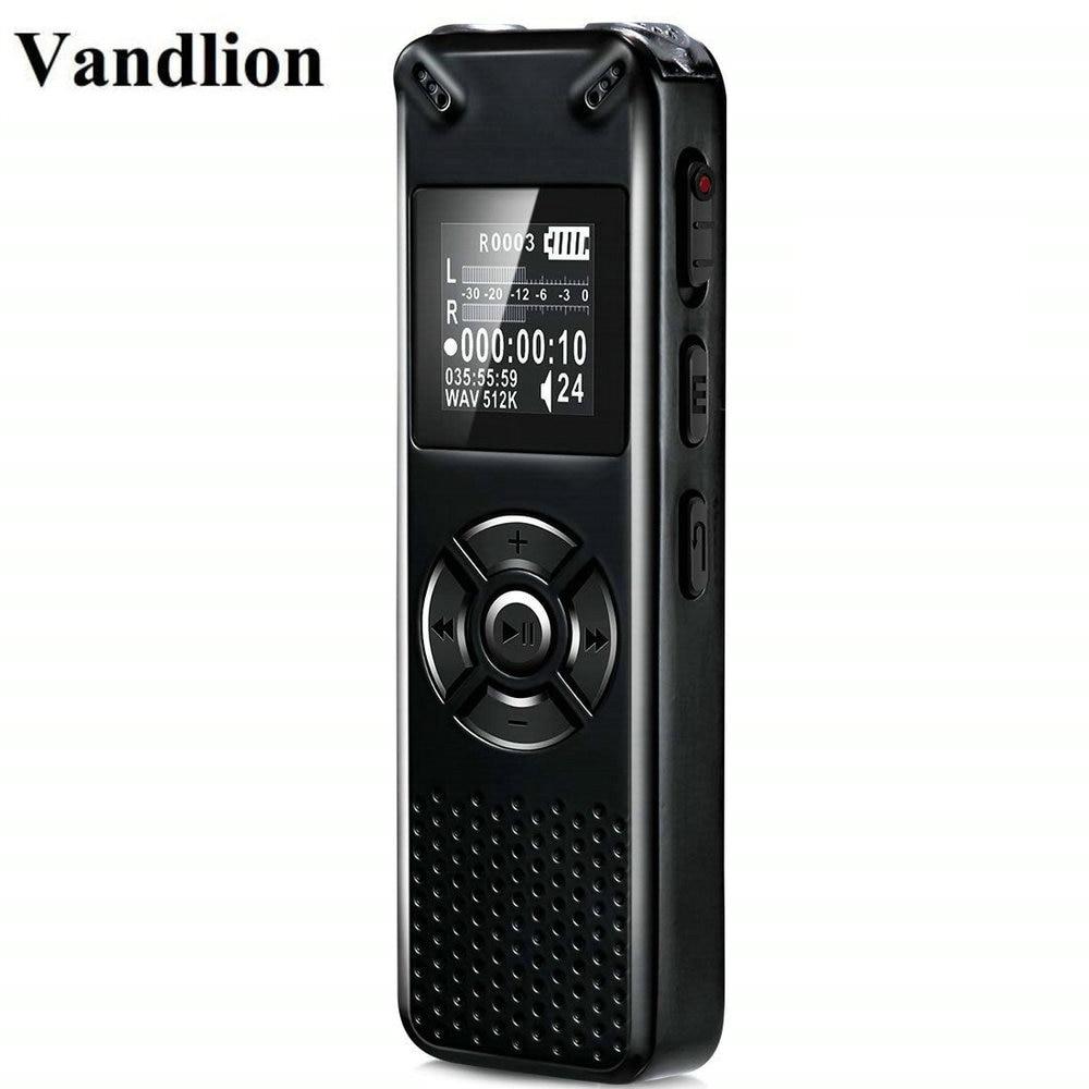 Vandlion Professional Smart Digital Voice Recorder Portable Hidden HD Sound font b Audio b font Telephone
