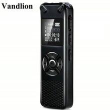 Vandlion Профессиональный умный цифровой голосовой Регистраторы Портативный Скрытая HD звука Аудио Телефон Запись диктофон MP3 Регистраторы