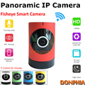 High quality 720P WIFI Panoramic IP Camera indoor Plug and play Fisheye lens phone monitor P2P Onvif 1.0MP CCTV security Camera