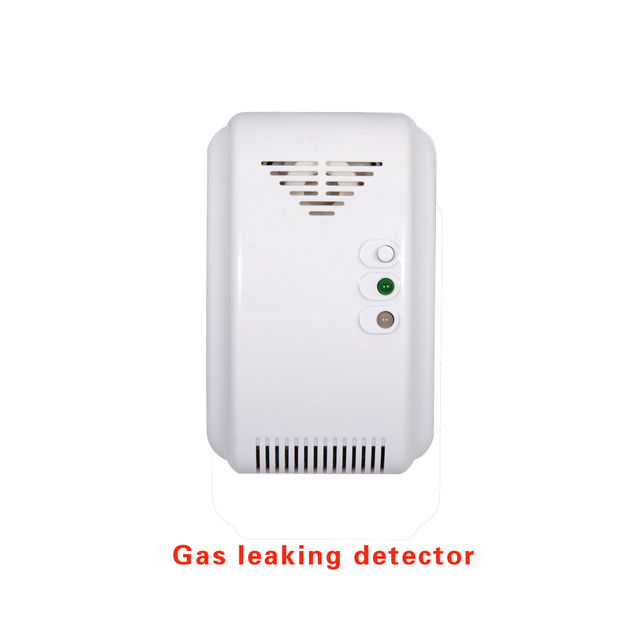 12VDC NC/NO Relay signal output wire Combustible gas leak Home security Alarm Coal Natural Gas LPG Leaking detector CH4 sensor