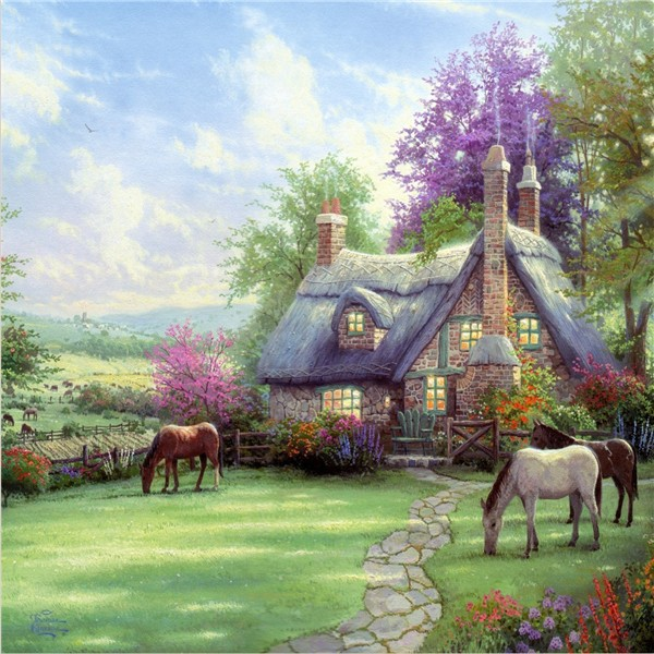 Compare prices on beautiful cottage online shopping buy for Beautiful cottages pictures